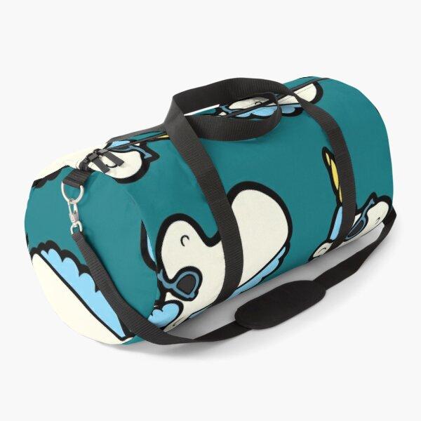 Unicorns Are Cool Pattern - Blue Duffle Bag