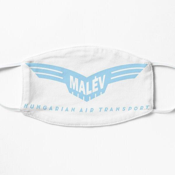 Malév - Hungarian Air Transport (blue on white) Flat Mask
