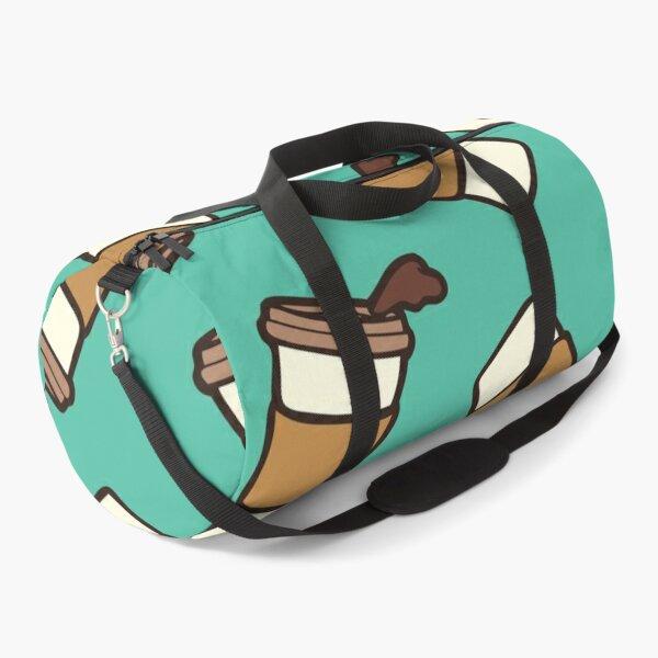 Take it Away Coffee Pattern Duffle Bag