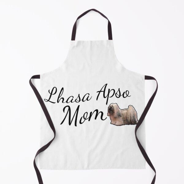 Lhasa Apso Mom Apron