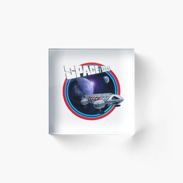 SPACE 1999 GENERIC 3 Acrylic Block