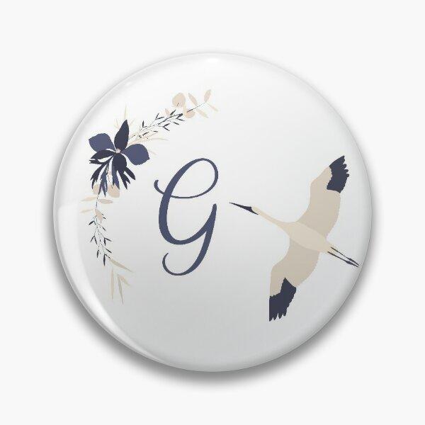 Fleur Initial G Pin