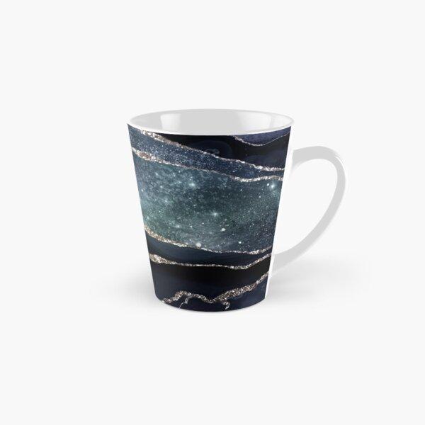 Glamour Night Black Milky Way Marble Galaxy Tall Mug