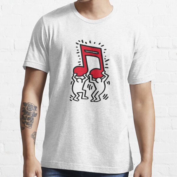 Keith Haring - Music Talking Heads Abstract Pop Art - T Shirt Essential T-Shirt