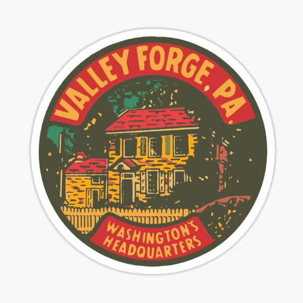 Vintage Valley Forge Decal Sticker