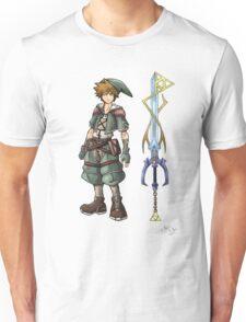 Kingdom Hearts: Legend of Zelda Unisex T-Shirt