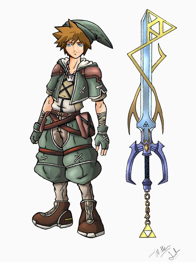 Kingdom Hearts: Legend of Zelda | Unisex T-Shirt