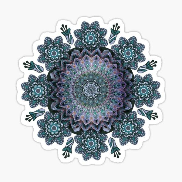 Abstract Mandala Art work Sticker