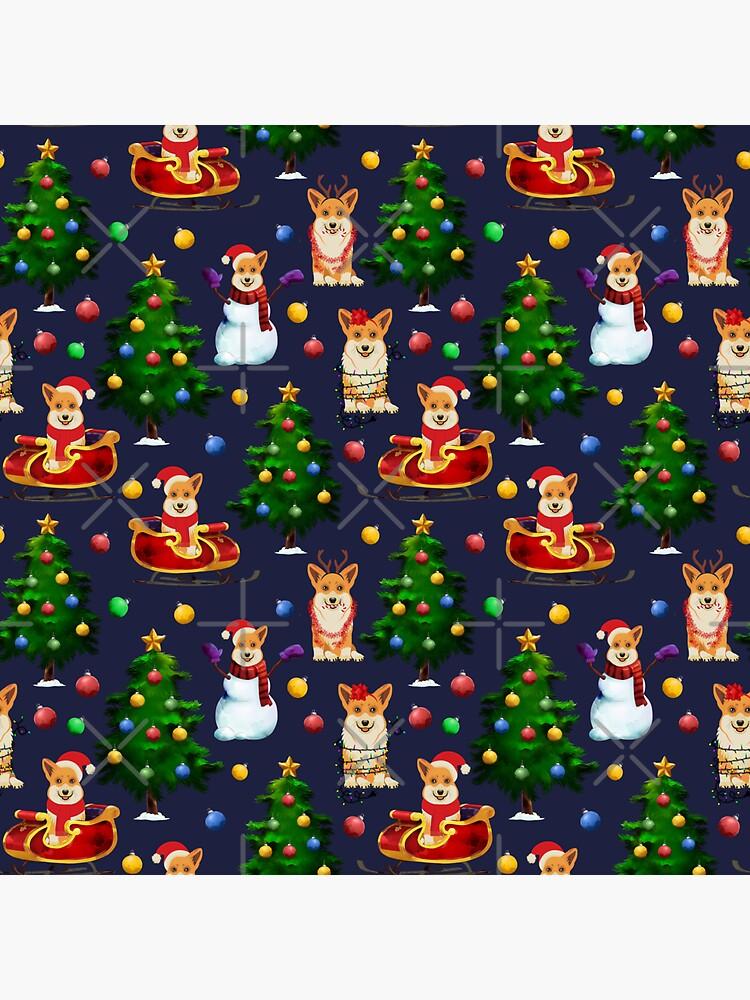 Corgi Christmas  by Corgiworld