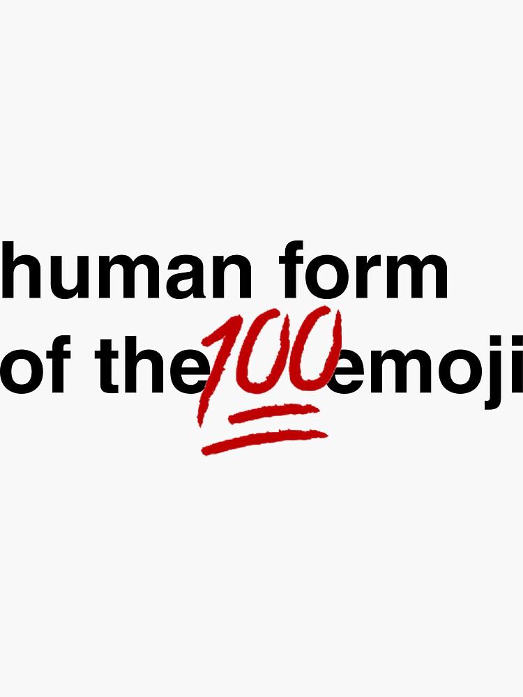 Gina Linetti - Menschliche Form der 100 Emoji von lrschh