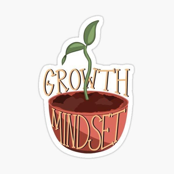 Growth Mindset Seedling Sticker