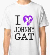 I <3 JOHNNY GAT - saints row white Classic T-Shirt