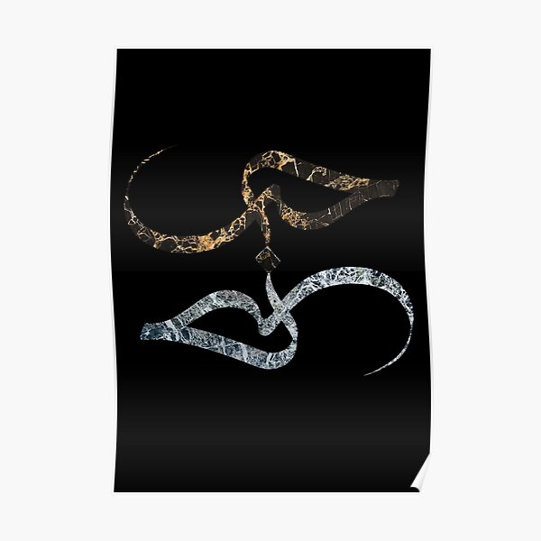 LOVE | Abstract Arabic Calligraphy Poster