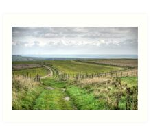 South Downs - October 2013 Art Print