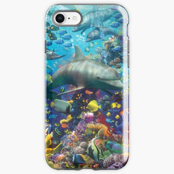 The Red Sea iPhone Tough Case