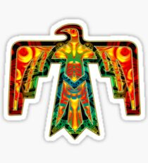 Thunderbird - American Indians - Power & Strength Sticker