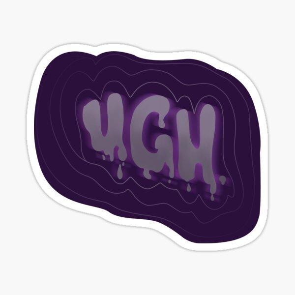 UGH. Sticker