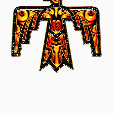 Thunderbird - Native Americans - Power & Strength by nitty-gritty