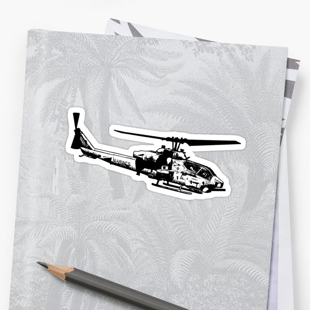AH-1 SuperCobra by deathdagger
