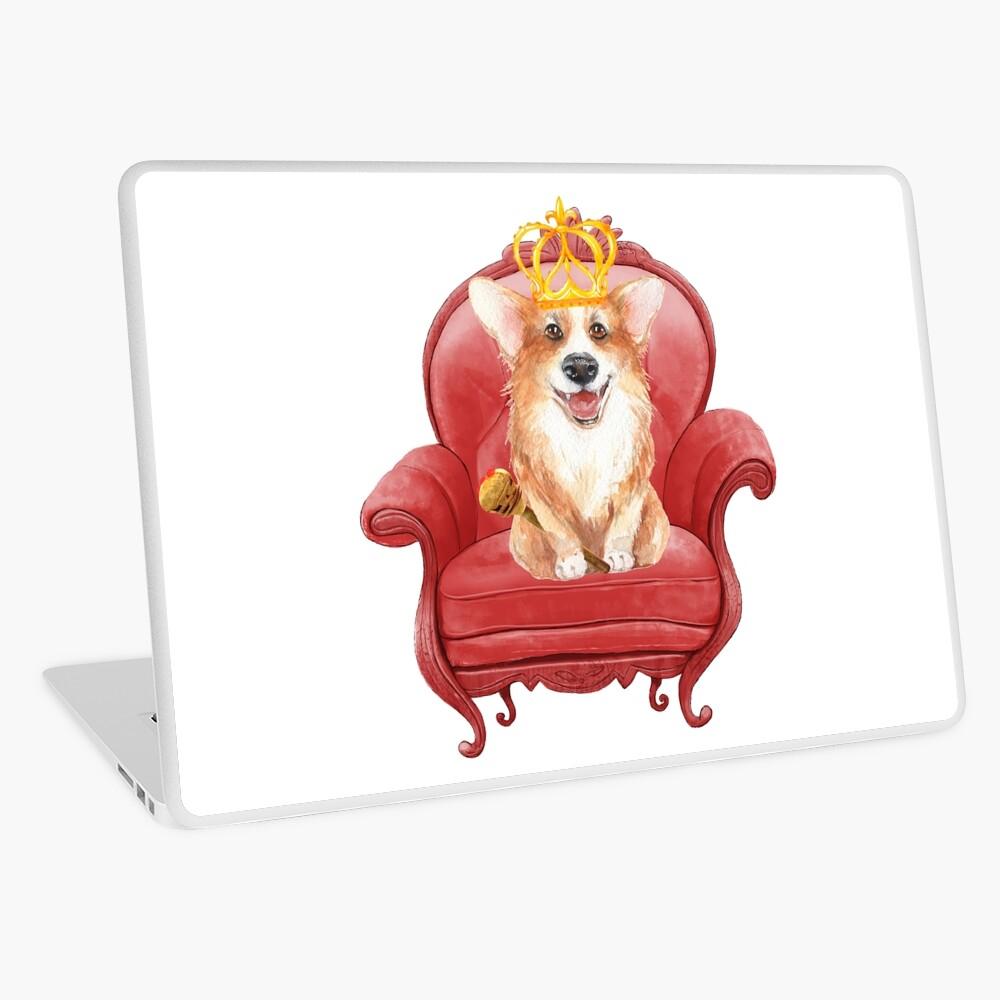 Queen Corgi Elizabeth  Laptop Skin