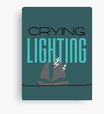 Lighting Canvas Print