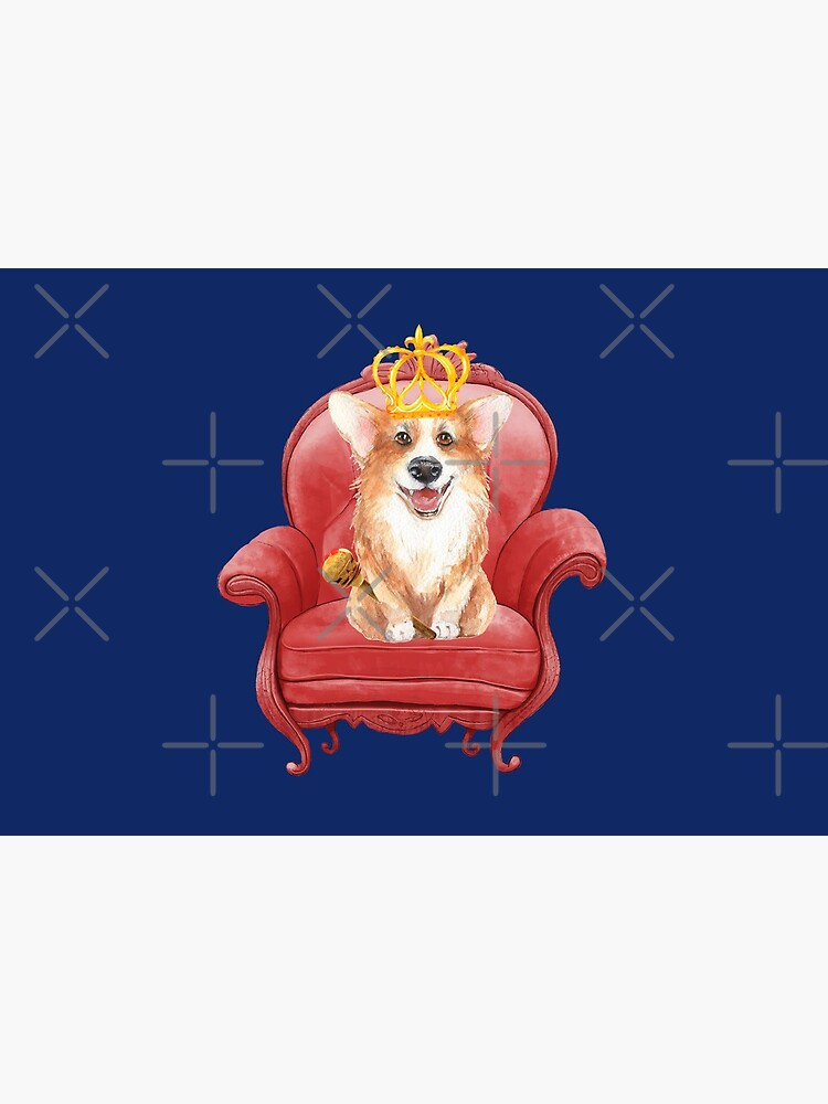 Her Majesty - Corgi Elizabeth  by Corgiworld
