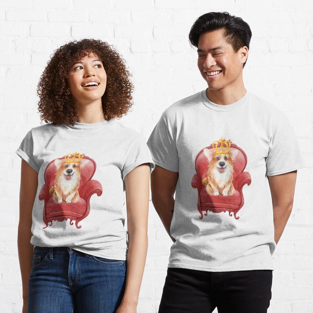 Her Majesty - Corgi Elizabeth  Classic T-Shirt