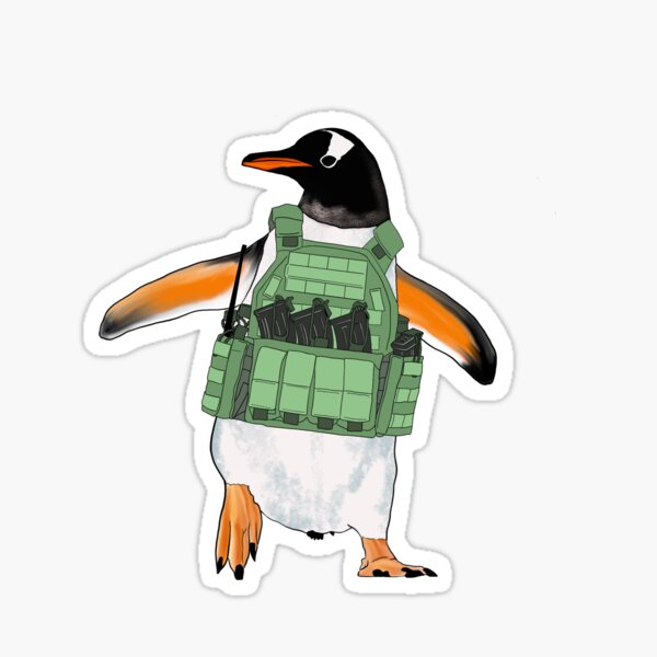The Tactical Penguin Sticker