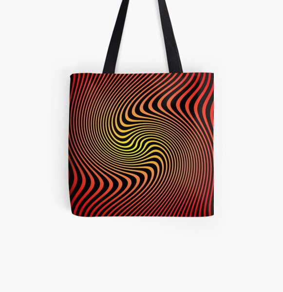 Espiral Cinético By Daniel Gangi All Over Print Tote Bag
