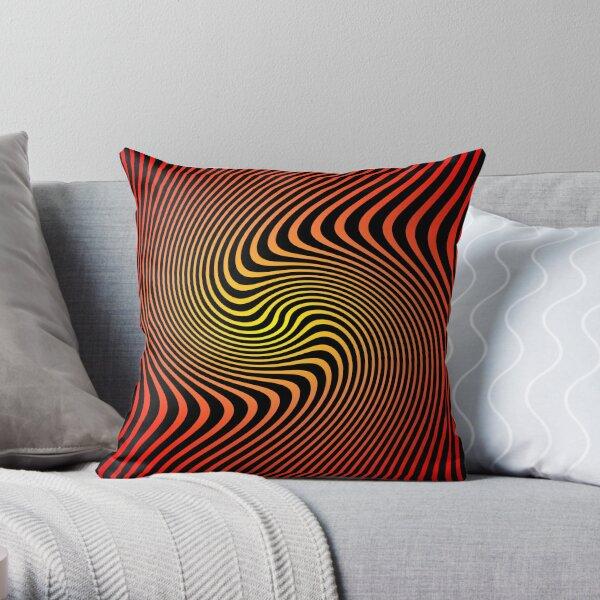 Espiral Cinético By Daniel Gangi Throw Pillow