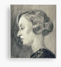 Lady Edith Crawley of Downton Abbey Canvas Print