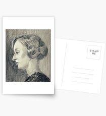 Lady Edith Crawley of Downton Abbey Postkarten
