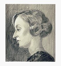Lady Edith Crawley of Downton Abbey Photographic Print