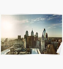 Póster Philadelphia Skyline, octubre de 2013