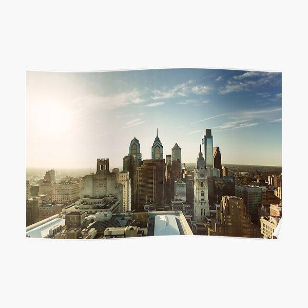Philadelphia Skyline, October 2013 Poster