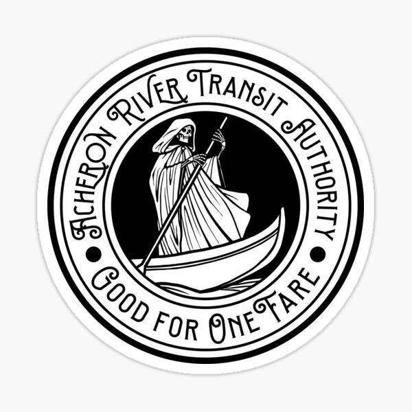 Underworld Transit Token - Light Sticker