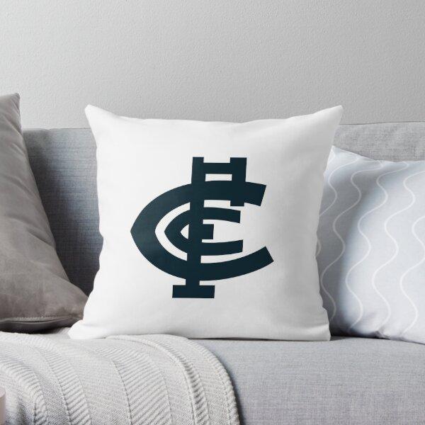 CARLTON LOGO FOOTBALL Mask T Shirt Sticker  Throw Pillow