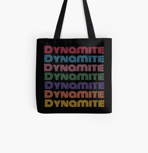 Dynamite bts  All Over Print Tote Bag