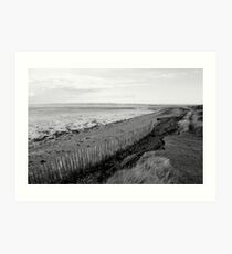 Hayling Billy Track Art Print