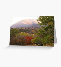 October morn' in Garden of the Gods (Colorado Springs) Greeting Card