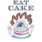 Let Him Eat Cake Birthday Card by LowHumour