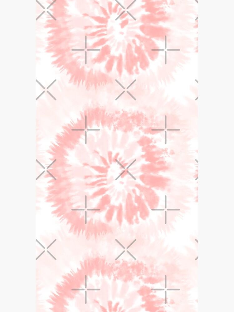 Pink Swirl Tie Dye Pattern  by jamiemaher15