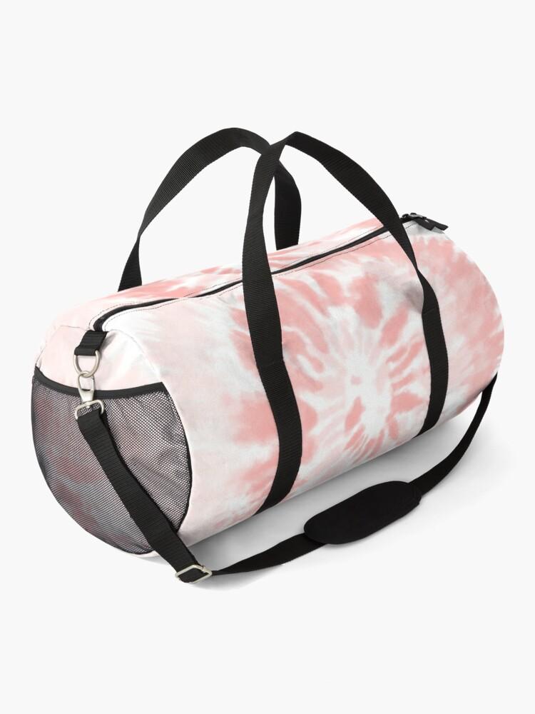 Alternate view of Pink Swirl Tie Dye Pattern  Duffle Bag
