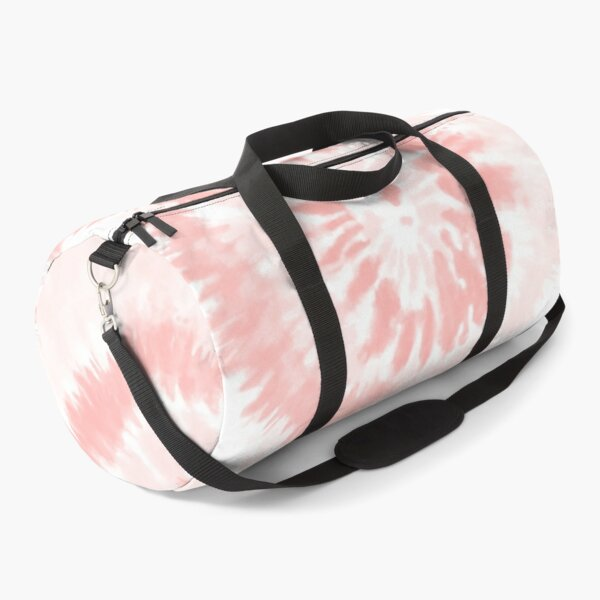 Pink Swirl Tie Dye Pattern  Duffle Bag