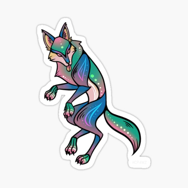 Coyote Sticker