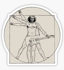 Vetruvian Rock Star  Sticker