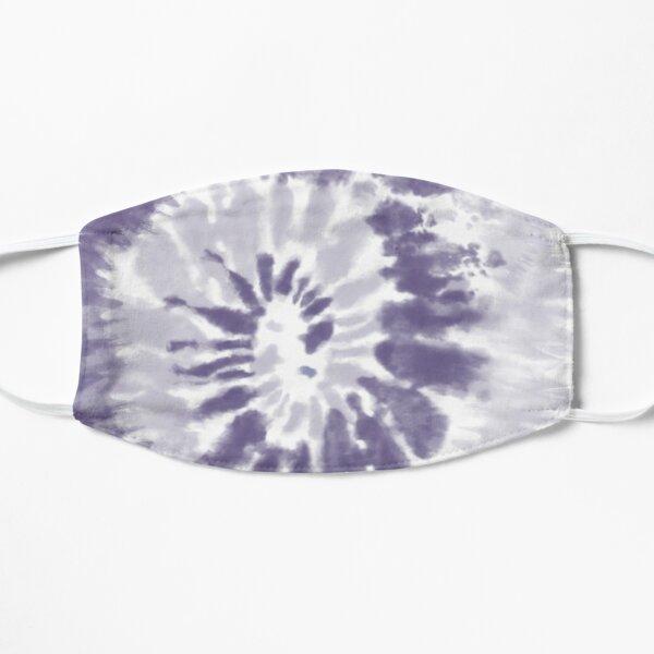 Purple Swirl Tie Dye Pattern  Flat Mask