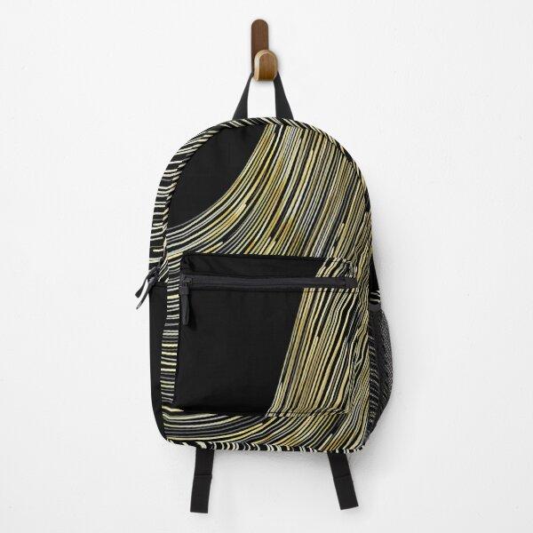 Gold Waves Backpack