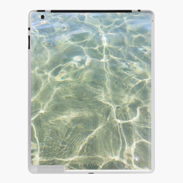 Crystal water of a Cretan beach  iPad Skin