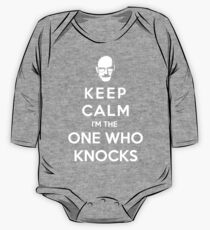Keep Calm Im The One Who Knocks One Piece - Long Sleeve